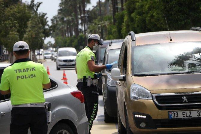 Mersin'de sürücüler bilgilendirildi