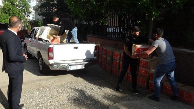 MHP Diyarbakır İl Başkanlığı, muhtaç aileleri yalnız bırakmadı