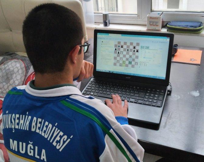 Muğla'da online satranç turnuvası