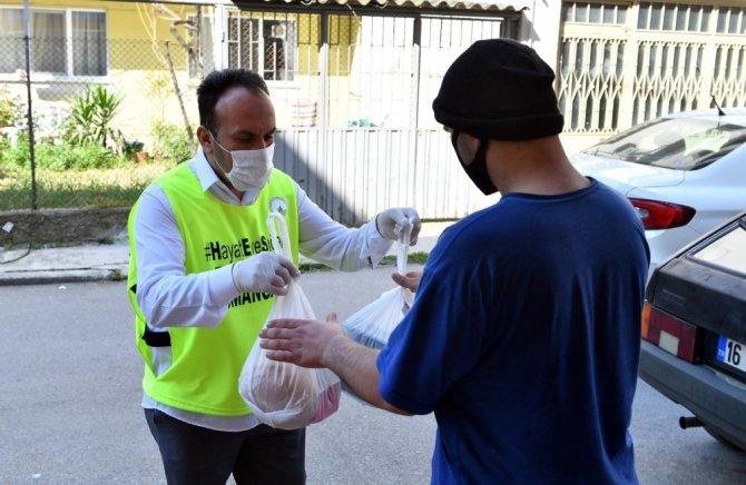 Osmangazi'den 216 bin noktaya sosyal yardım