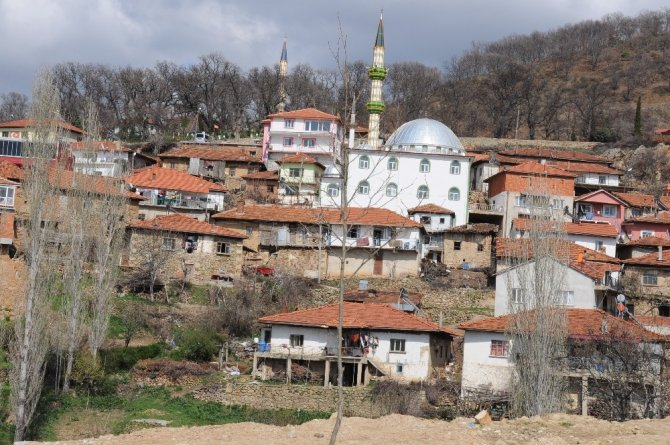 Kütahya'da bir köyde 29 ev karantinaya alındı