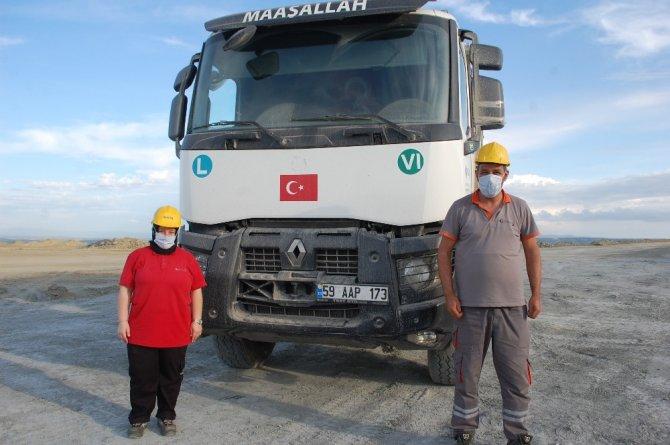 Karı koca kamyon şoförü