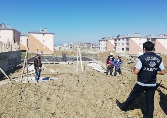 Tuşba Belediyesi, kaçak yapılaşmaya fırsat vermiyor