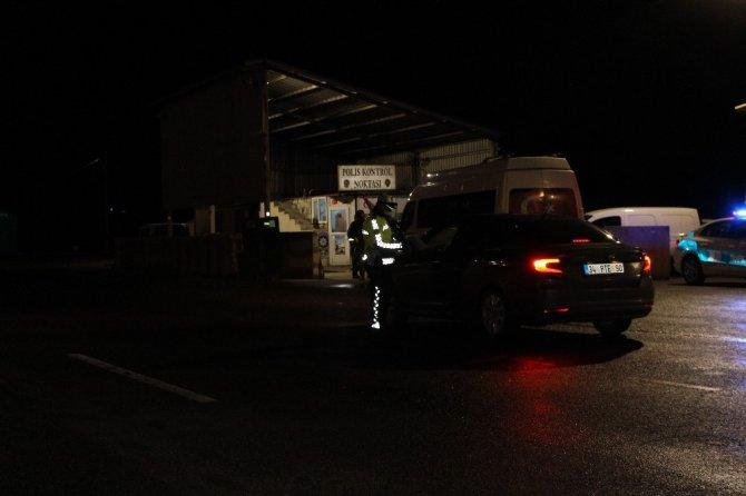 Erzurum'da seyahat kısıtlamasının kaldırılmasının ardından kente araç giriş ve çıkışlarına izin veriliyor