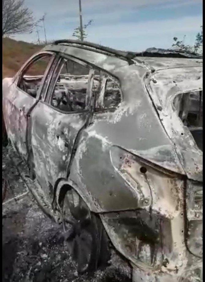 Önce silahla vurulan sonra araçta yakılarak öldürülen kişinin katil zanlısı suçunu itiraf etti