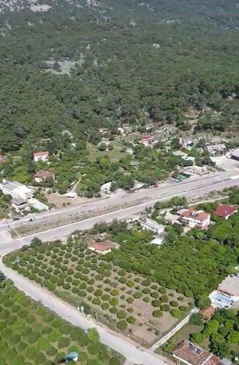 Antalya'da sürücüler havadan denetlendi