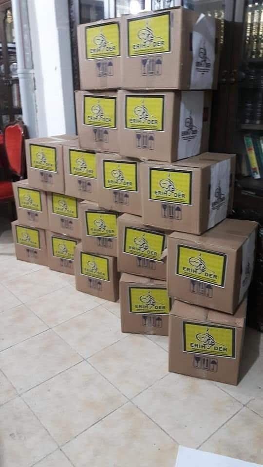 ERİHDER 500 dar gelirli aileye gıda yardımında bulundu