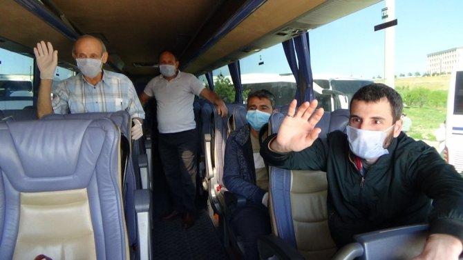 Kütahya'ya getirilen 459 vatandaşın karantina süreci tamamlandı
