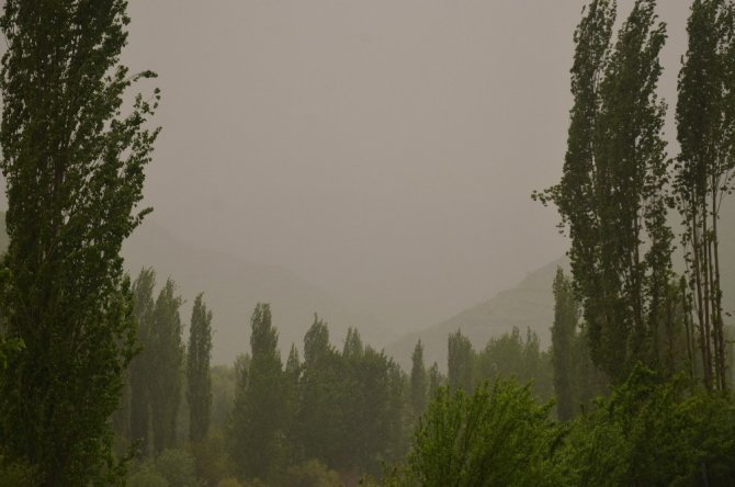 Şırnak'ta çamur yağdı