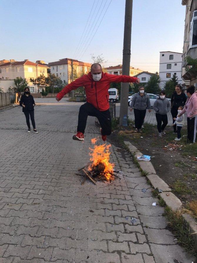 Hıdrellez ateşi neşe saçtı