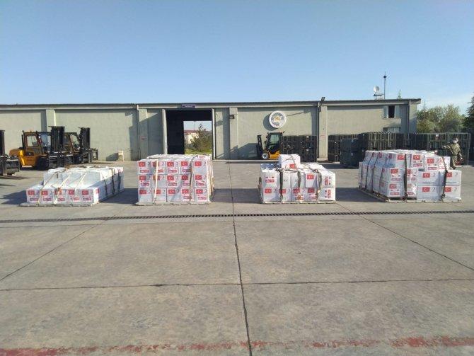 Türkiye'den Kuzey Makedonya ve Arnavutluk'a tıbbi malzeme yardımı