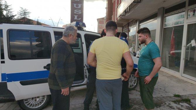 Sokakta top oynayanlar 'mobese'den tespit edildi, ceza yazıldı
