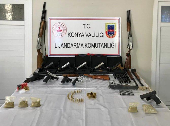 Kaçak silah üretip satmışlar...Konya'da suç örgütü kurmuşlar!