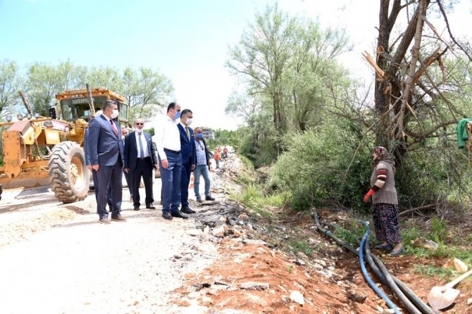 Başkan Altay sahalara geri döndü