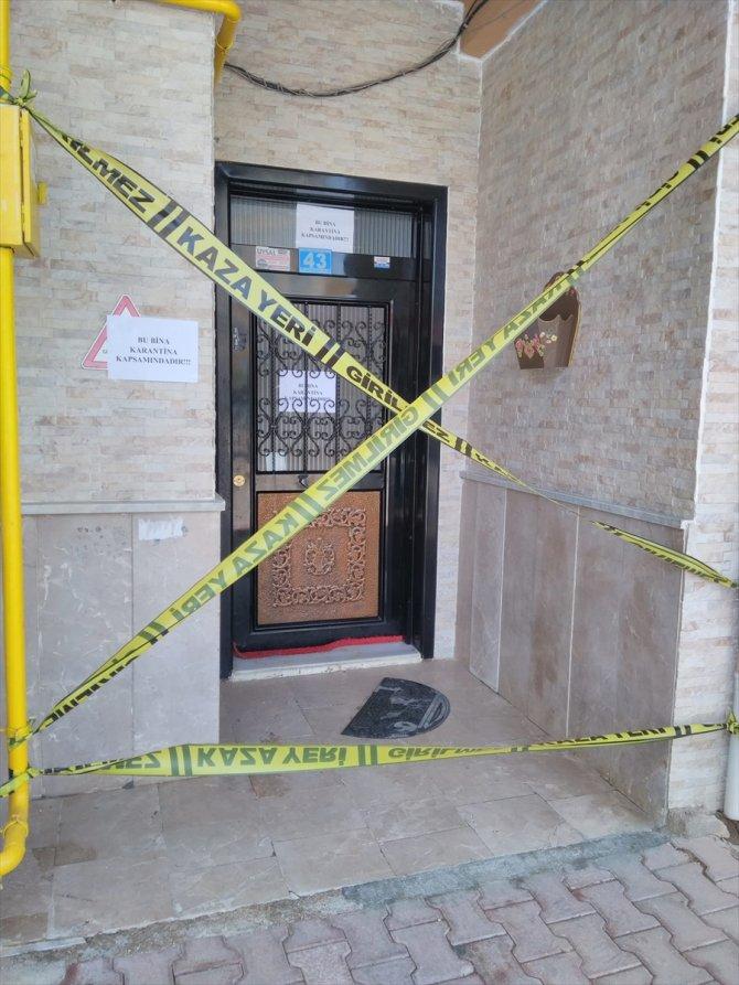 Konya'da 2 apartman Kovid-19 tedbirleri kapsamında karantinaya alındı