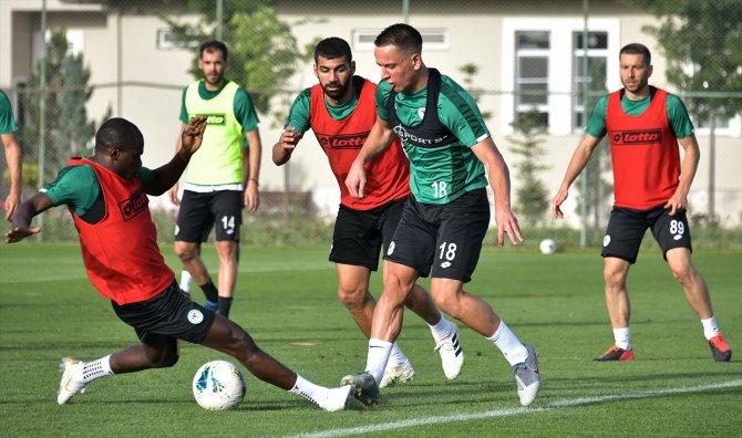 Konyaspor, Gençlerbirliği maçı hazırlıklarını sürdürdü