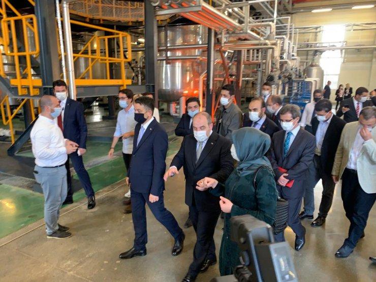 (Geniş Haber)Tuzla'da enzim fabrikası Bakan Varank ile Pakdemirli'nin katılımıyla açıldı