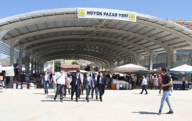 Bakan Yardımcısı Demircan'dan Hüyük'e ziyaret