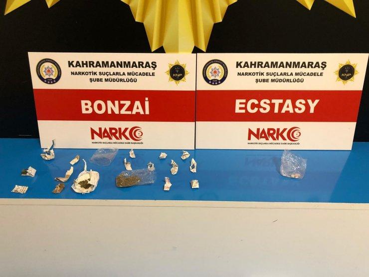 Kahramanmaraş'ta uyuşturucuya 8 tutuklama
