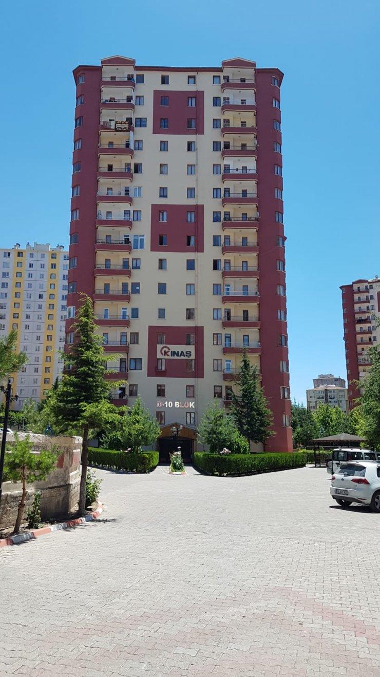 Kayseri'de 49 daire karantinaya alındı