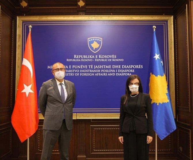 Kosova Dışişleri Bakanı Stublla'dan Türkiye'ye teşekkür