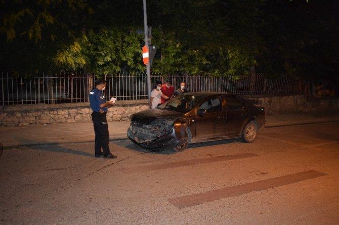 Malatya'da trafik kazası : 1 yaralı