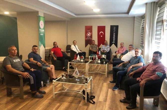 Halterde teknik kurul toplantısı Konya'da yapıldı