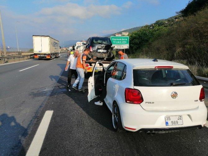 Kocaeli'de kaza: 2 yaralı
