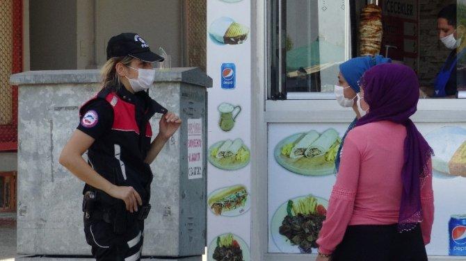 (Özel) Bursa'da 14 bin kişiye maske cezası