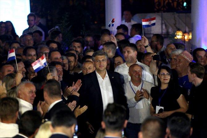 Hırvatistan'da genel seçimi iktidar partisi kazandı