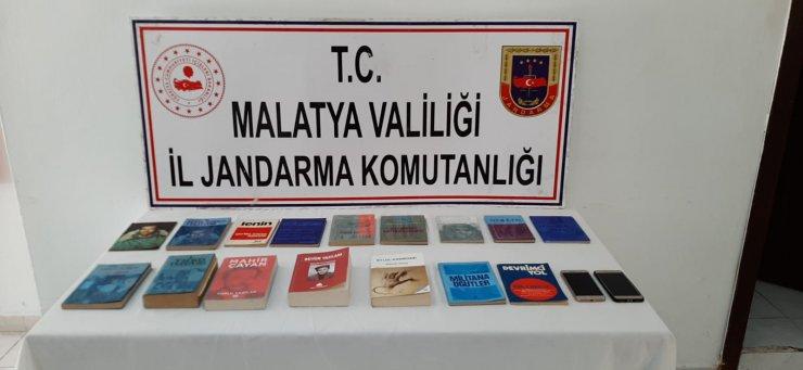 Malatya'da, terör propagandasına 2 gözaltı