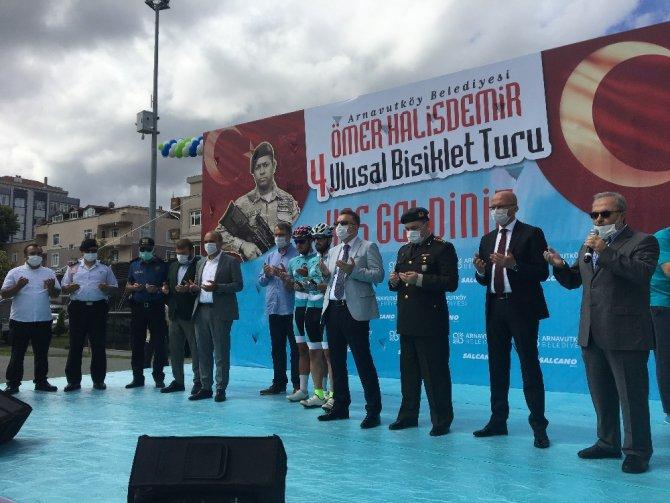 Pedallar 4'ncü kez şehit Ömer Halisdemir için çevrildi