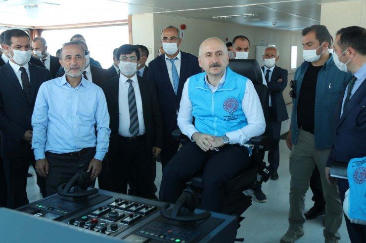 Bakan Karaismailoğlu, Bitlis ve Tatvan'da projeleri inceledi