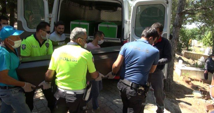 Havai fişek fabrikasındaki patlamada ölen işçi, Çorum'da defnedildi