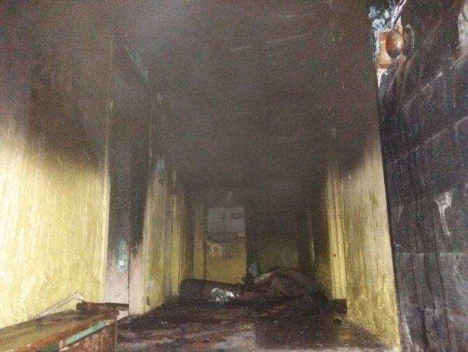 Kütahya'da ev yangını
