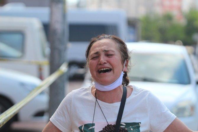Kızı ve torununu kaybeden anneanne ve dedenin feryatları yürekleri dağladı
