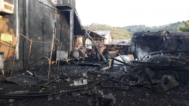 Salyangoz fabrikasında buhar kazanı patladı: 1 ölü
