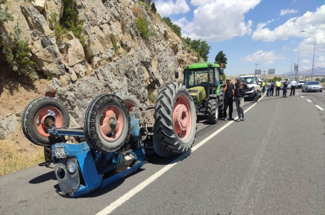 Konya'da trafik kazası: 3 yaralı