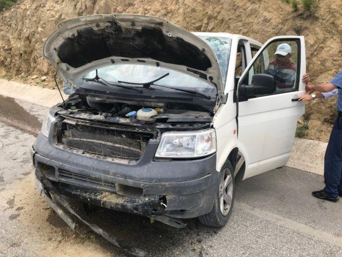 Bilecik'te trafik kazasında 1 kişi yaralandı