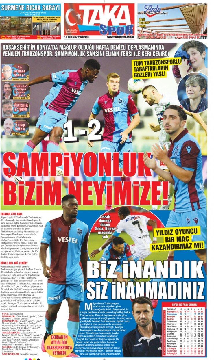 Yerel basından Trabzonspor'a sert eleştiriler: Kayıp aranıyor