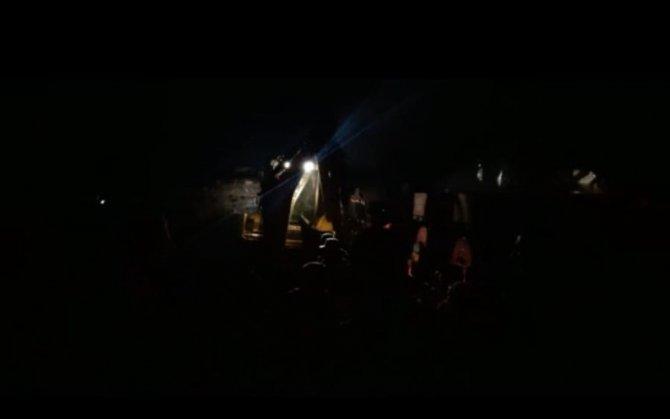Ardahan'da korkutan yangın: 2 ev ile 1 ahır kül oldu