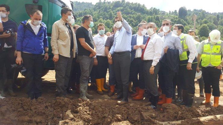 Selin vurduğu Rize'de hasar tespit çalışmaları sürüyor (3)