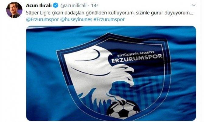 """Başkan Sekmen: """"Şükürler olsun yeniden Süper Lig'deyiz"""""""