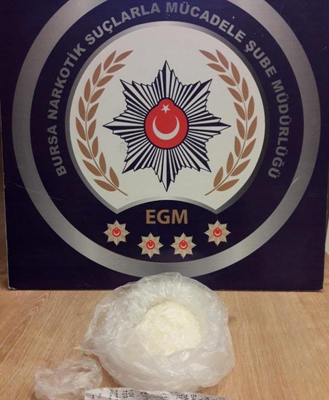 Bursa'da uyuşturucu operasyonu: 10 gözaltı