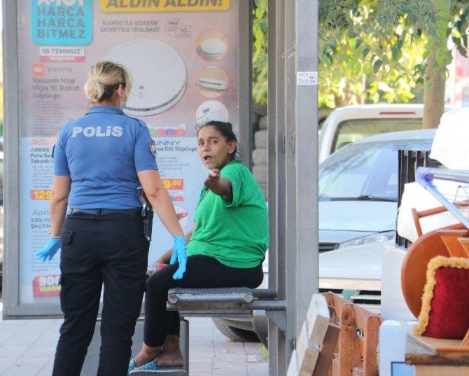 Doğum yapan korona hastası uyuşturucu kullanmak için hastaneden kaçtı