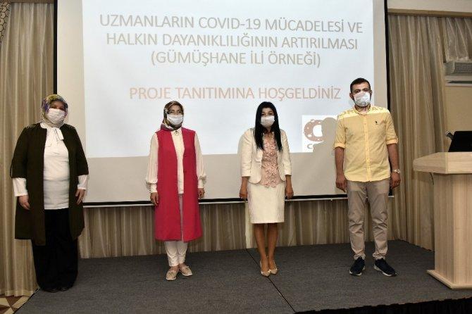 Gümüşhane koronavirüse karşı 'Saha Mücadele Rehberi' oluşturuyor