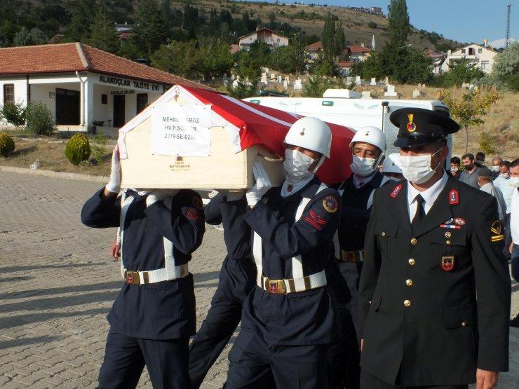 Kazada ölen sözleşmeli er, memleketi Yozgat'ta toprağa verildi