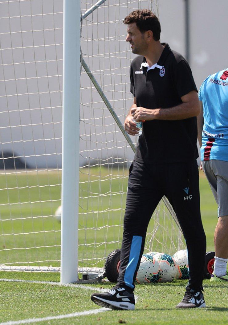 Trabzonspor'da Kayserispor maçı hazırlıkları başladı