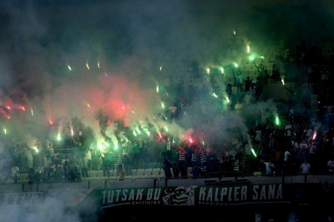 Bursaspor'dan görkemli idman