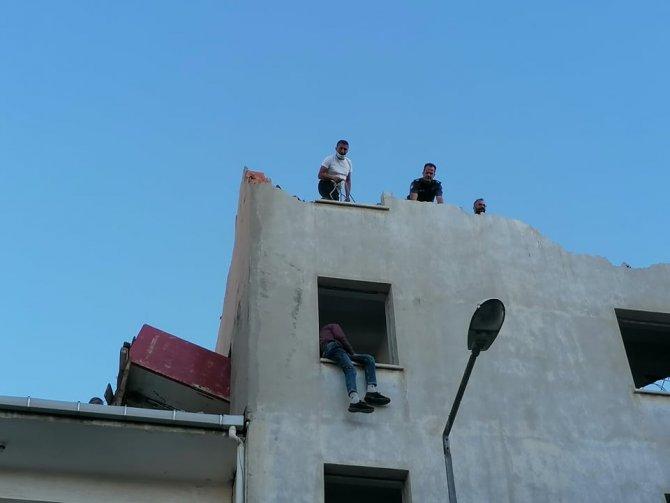 Çanakkale'de intihar girişimi